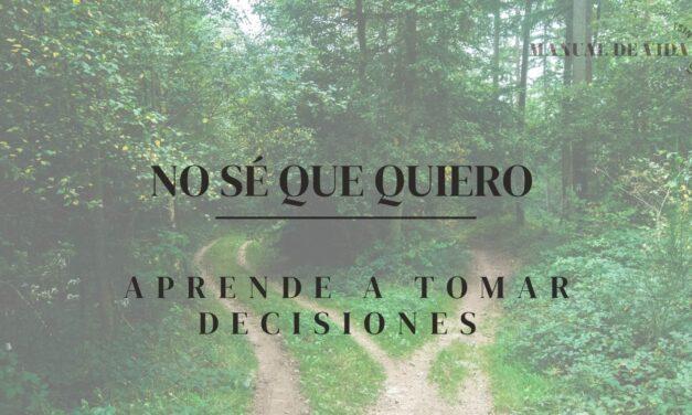 Aprende a Tomar Decisiones | Manual de Vida (Sin Filtro) PODCAST